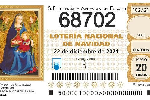 SORTEO 102/21 Nº68702