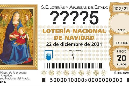 SORTEO 102/21 Nº????5