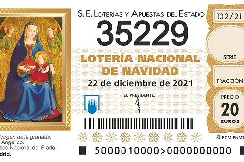 SORTEO 102/21 Nº35229