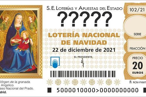 SORTEO 102/21 Nº?????