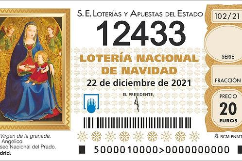 SORTEO 102/21 Nº12433