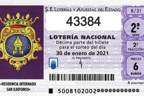 SORTEO 6/21 Nº43384