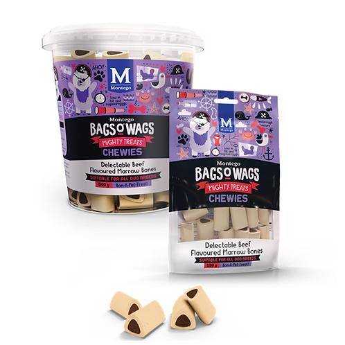 DOGS - Dog Treats - BoW Chewies Beef Marrow Bones