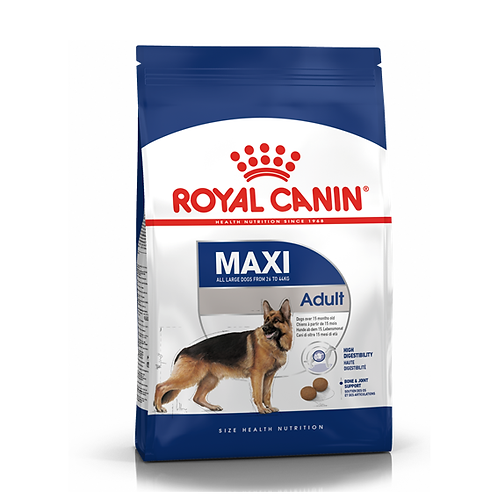 DOGS - Dog Food - Adult - Royal Canin - Maxi