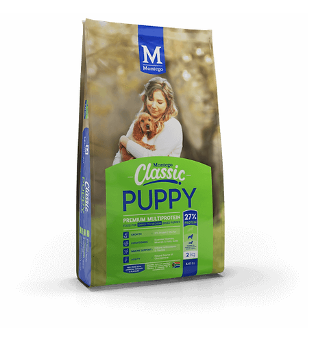 DOGS - Dog Food - Montego Classic - S to M  Puppy