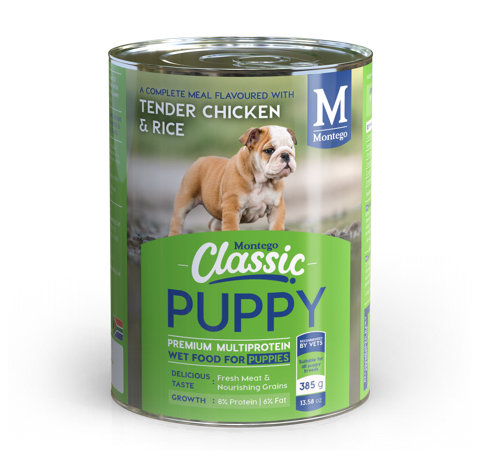 DOGS - Dog Food - Montego Classic - Wet Food Puppy