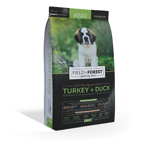 DOGS - Dog Food - Field and Forest - L to G Puppies