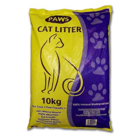 CATS - Cat Litters - Paws Cat Litter 10kg