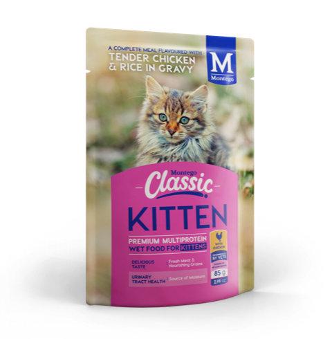 CATS - Cat Food - Montego Classic Kitten Wet Food