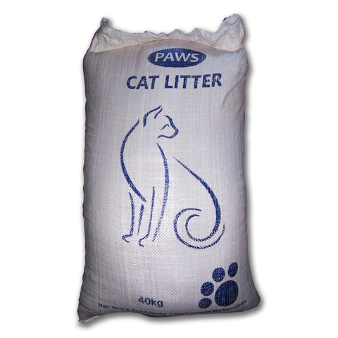 CATS - Cat Litter - Paws Cat Litter 40kg