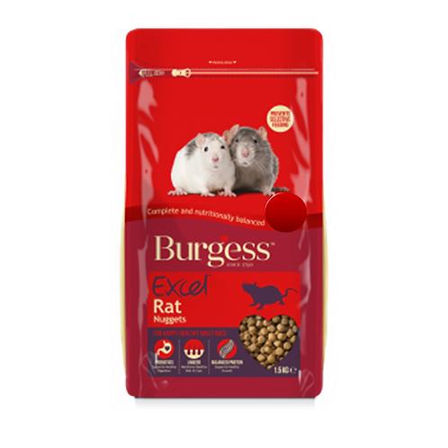 RATS - Rat Food - Burgess Excel Rat Nuggets