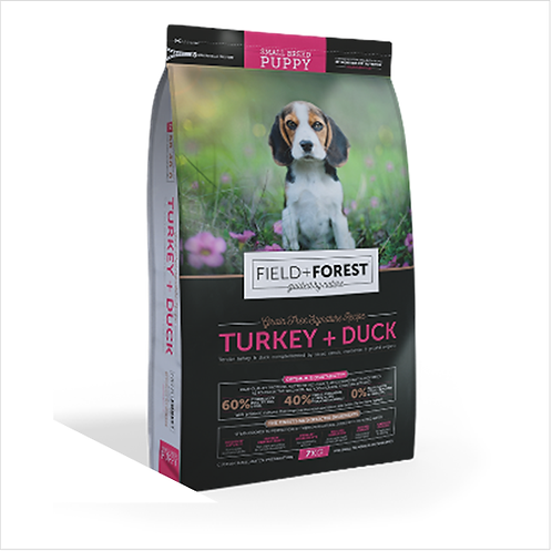 DOGS - Dog Food - Field and Forest - S to M Puppies