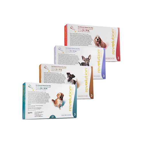 DOGS - Tick, Flea & Dewormer - Revolution
