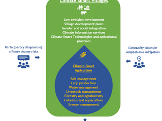 Implementing integrated grassroots 'climate smart' development programmes in rural communities