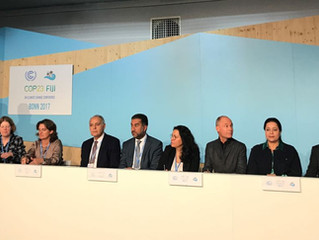 Climate Finance Report presented at COP23