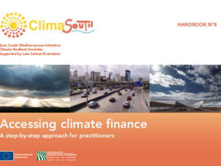 "The ""how-to"" of accessing climate finance: developing a climate finance handbook for the MENA region"