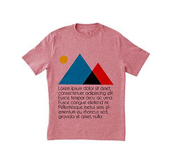 Cool Pink Graphic T-Shirt