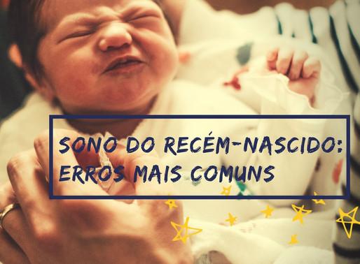 O sono do recém-nascido: erros mais comuns dos novos papais