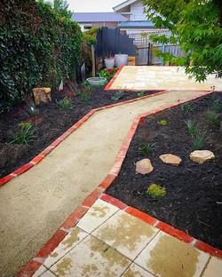 Adelaide St project #vandiemenslandscapes #tasmaniangardens #hobartgardens #landscaping #gardendesig