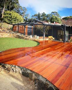Clouds End project #vandiemenslandscapes #tasmaniangardens #landscapedesign #gardendesign #landscapi