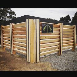 Tasmanian Oak screen, Woodbridge