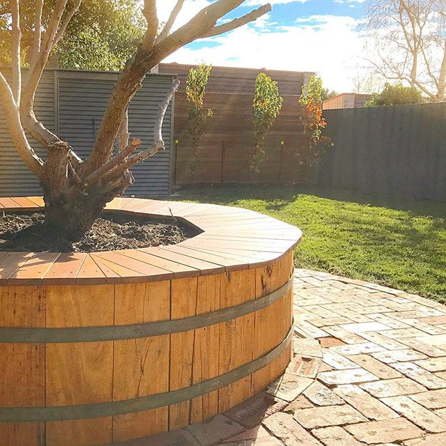 Hamilton St project #vandiemenslandscapes #landscapedesign #gardendesign #fruitwine #hobartgardens #