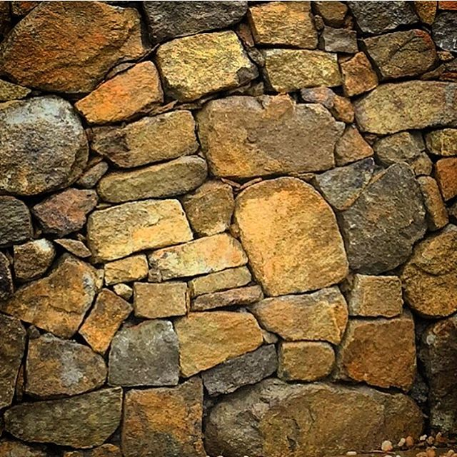 Natural Stonewall detail, Taroona