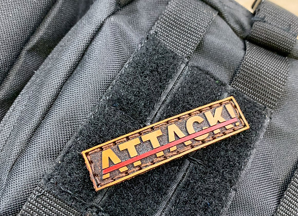 ATTACK!® Leather Patch