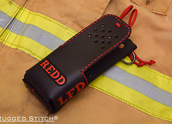 Custom Leather Radio Holster