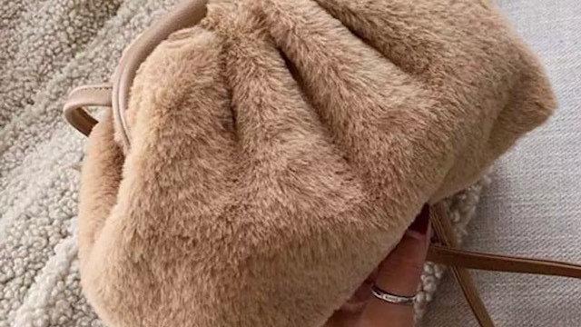 Bear shoulder bag
