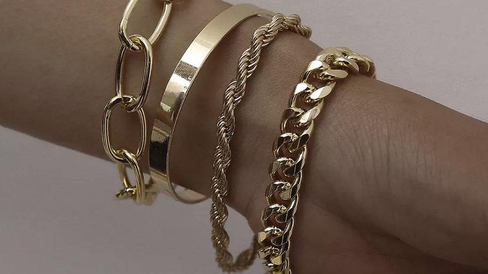 IVY 4 pack bracelets