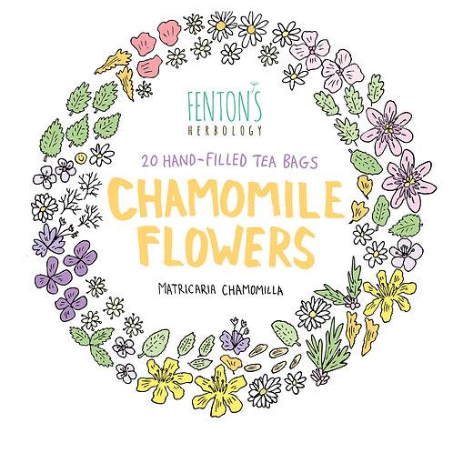 Organic & Biodynamically grown Chamomile Flowers