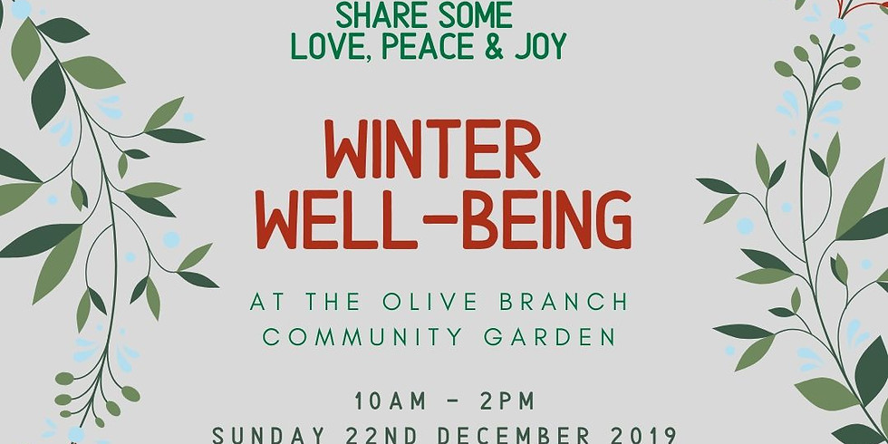 Winter Wellness at the Olive Branch Community Garden
