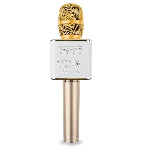 Q9 Bluetooth Microphone Gold
