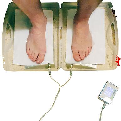 טיפול במניעת זיעה עודפת בכפות הרגליים