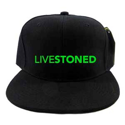 LIVESTONED Embroidered Snapback Cap