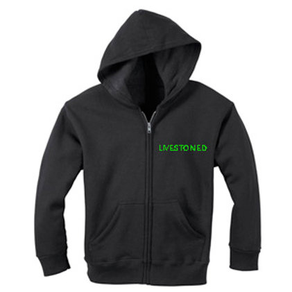 LIVESTONED Zipper Sweatshirt
