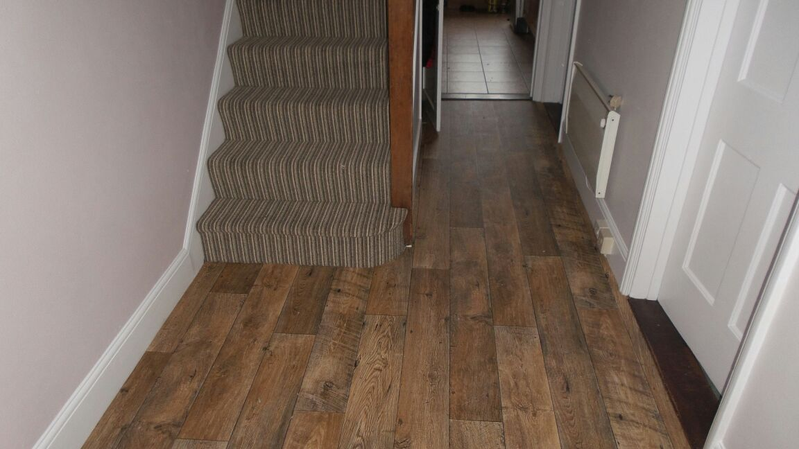 New Forestry  Kielder Forest Flooring with Brighton Rock, William Stripe carpe