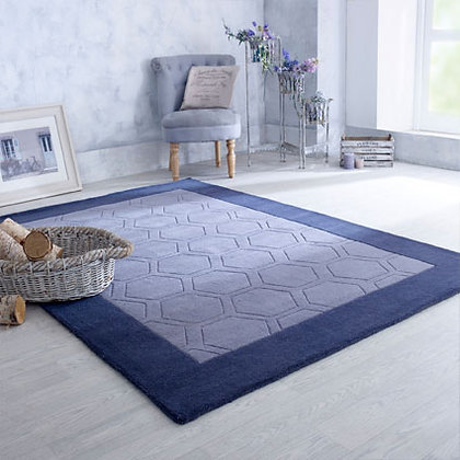 HEX - 100% HAND-TUFTED WOOL
