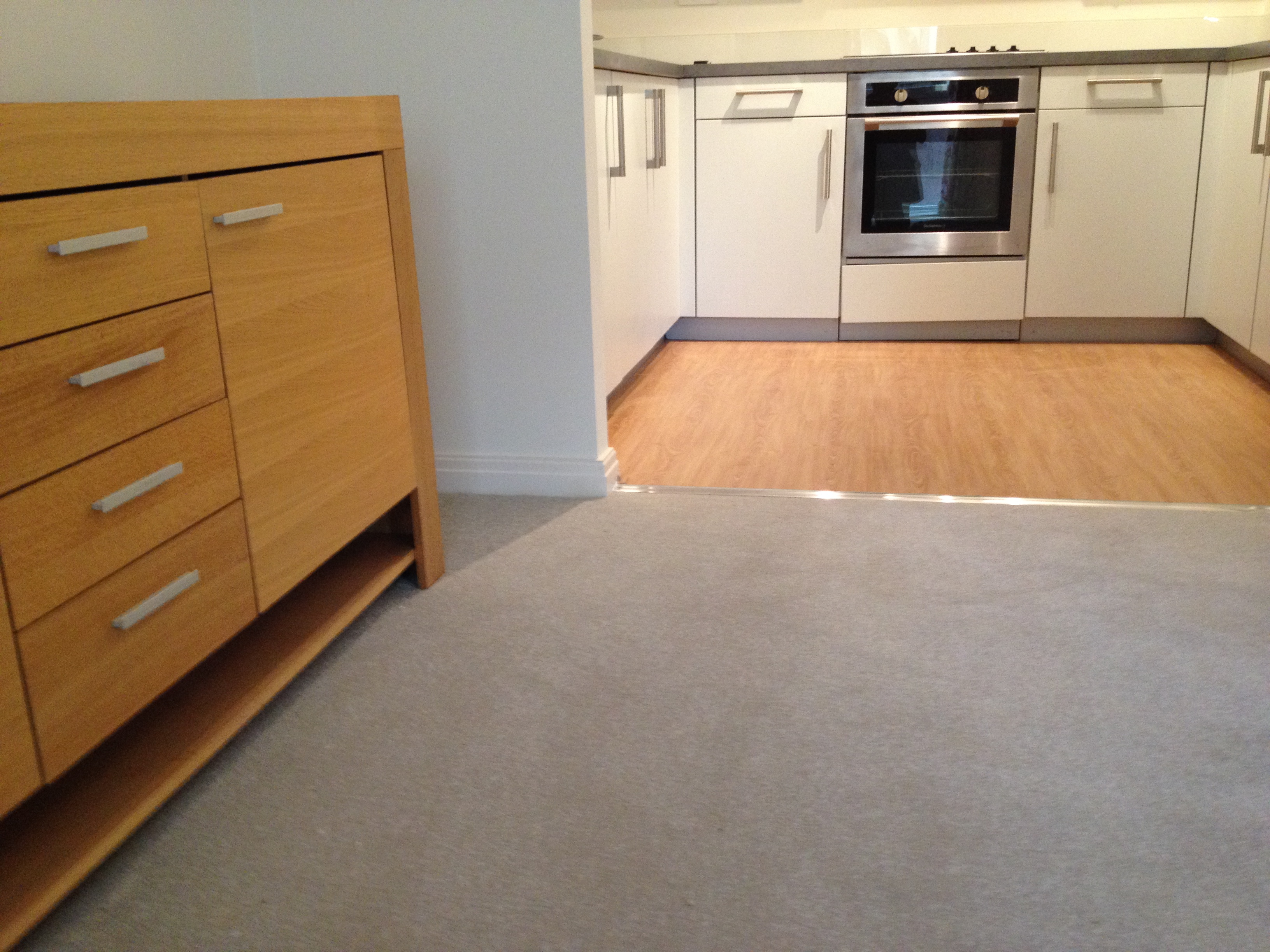 Laminate flooring & S/F Appeal carpe