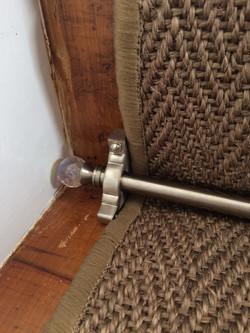 Alternative, Sisal Herringbone with Crystal Stair Rods (1).JPG