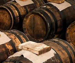 aged balsamic vinegar barrels