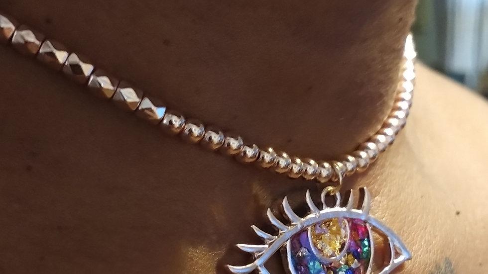 3rd eye Choker necklace