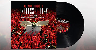 endless poetry soundtrack album cover art