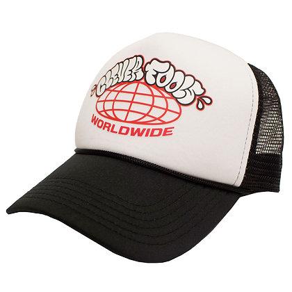 THROWIE WORLDWIDE FOAM TRUCKER HAT