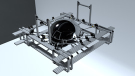 Still Life - Sphere, Pistons and Rig (early test render / work in progress)