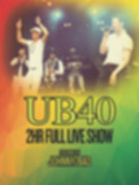 UB40 Experience presented by Johnny2Bad
