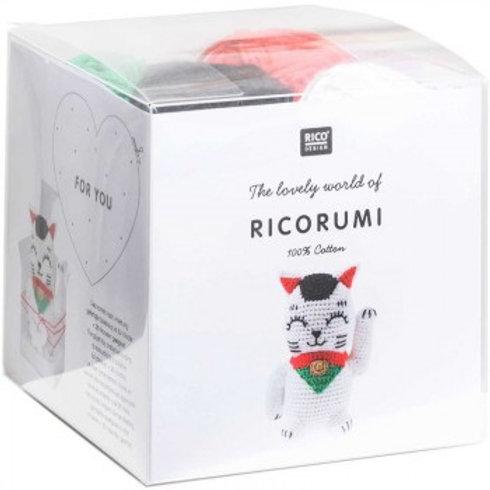 Kit crochet Ricorumi - Lucky Cat