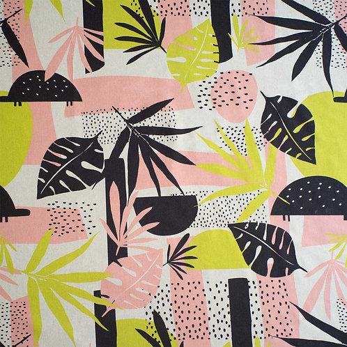Tissu Canvas Tropical x10cm