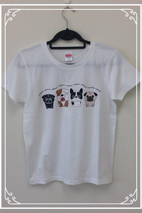 HanapechaTシャツ ホワイト①